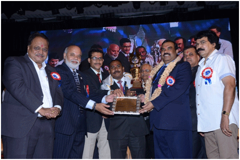 Mr. V. K. Chatap Received APTI state branch of the year Award
